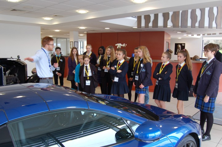 From marshmallows to McLaren! Ricardo inspires women to choose a career in engineering with 'Daughters at Work' day