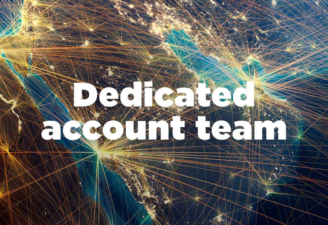 dedicated account team with a total workforce solution