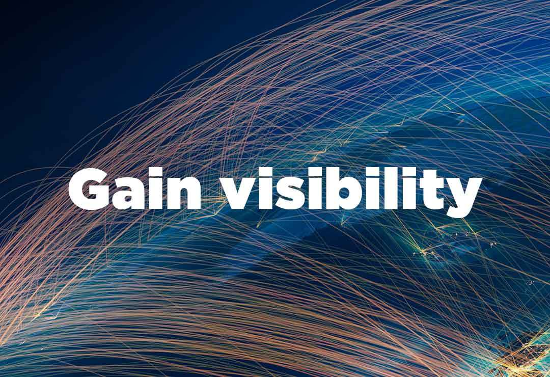 Gain visibility of your workforce