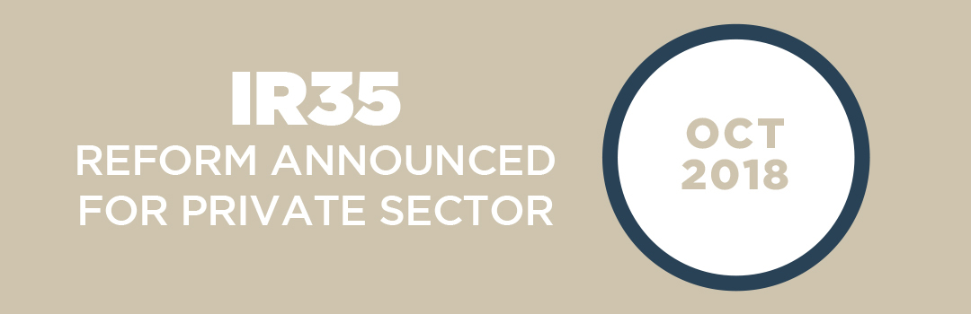 IR35 legislation announced for private sector
