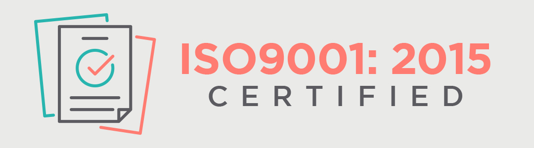 ISO9001:2015 certified engineering projects provider