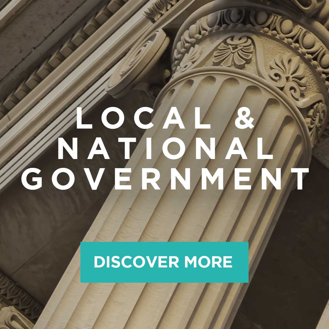 hire local and national government staff