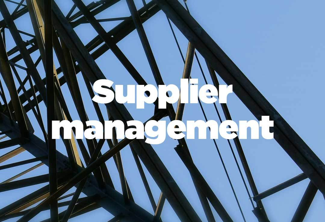 Supplier management benefits of an MSP