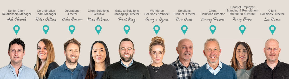 Our recruitment solutions experts