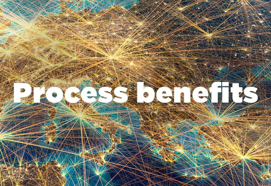 Process benefits of total workforce solutions
