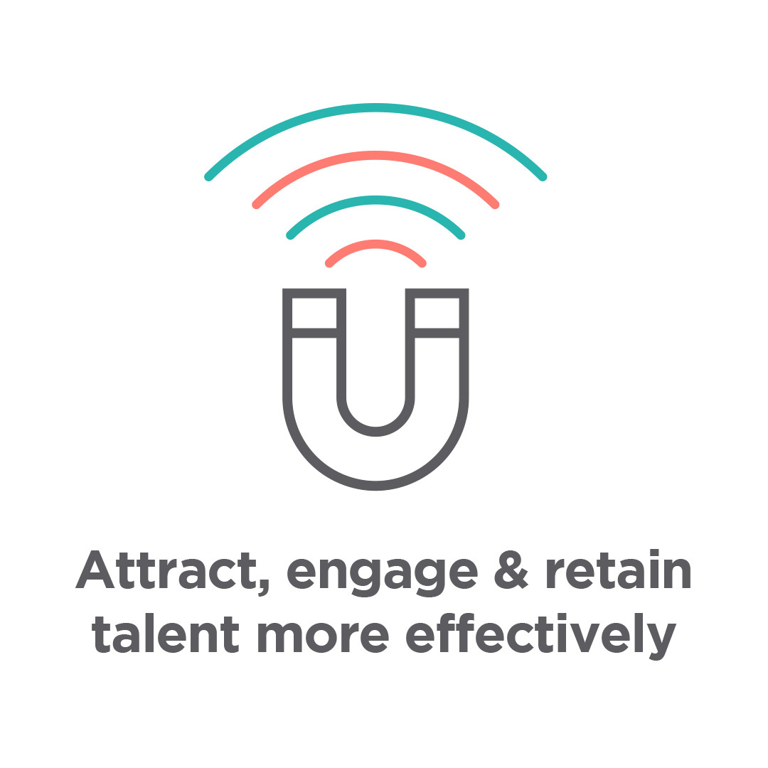 Attract, engage, retain staff