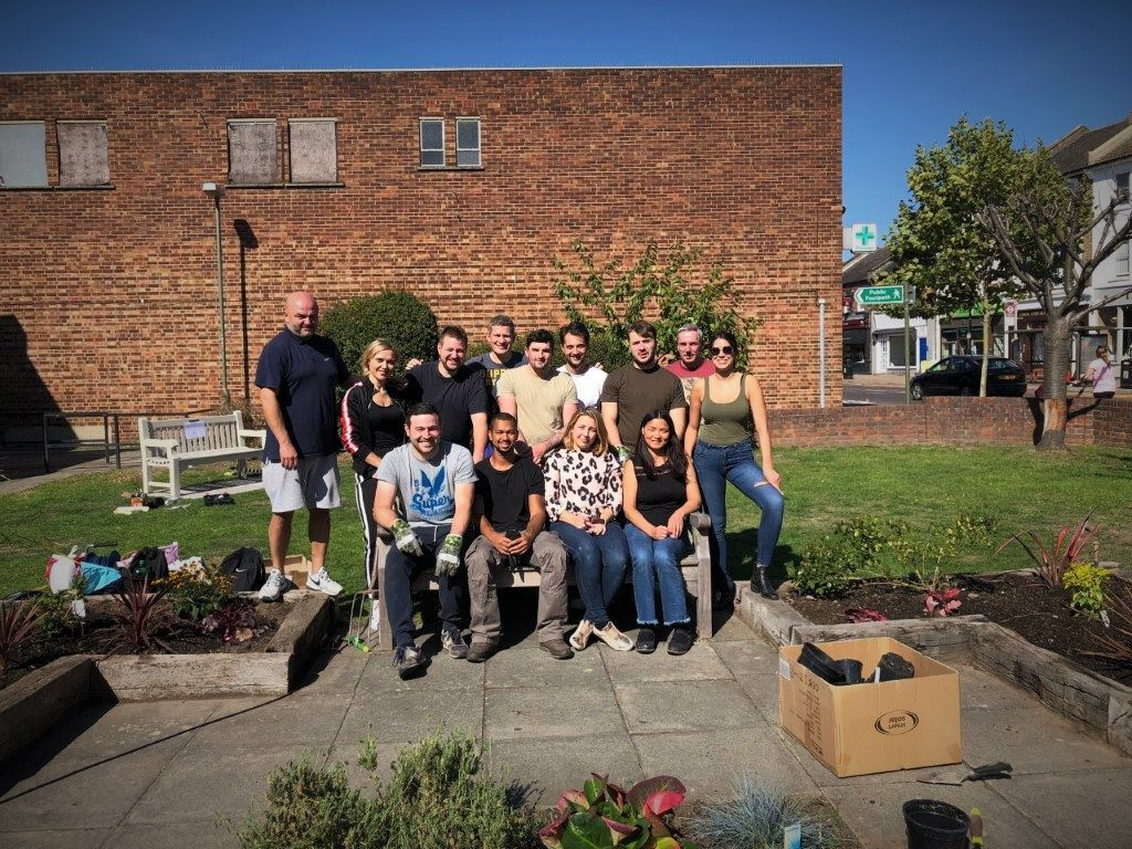 Gattaca PLC gets its gardening gloves on for Age UK