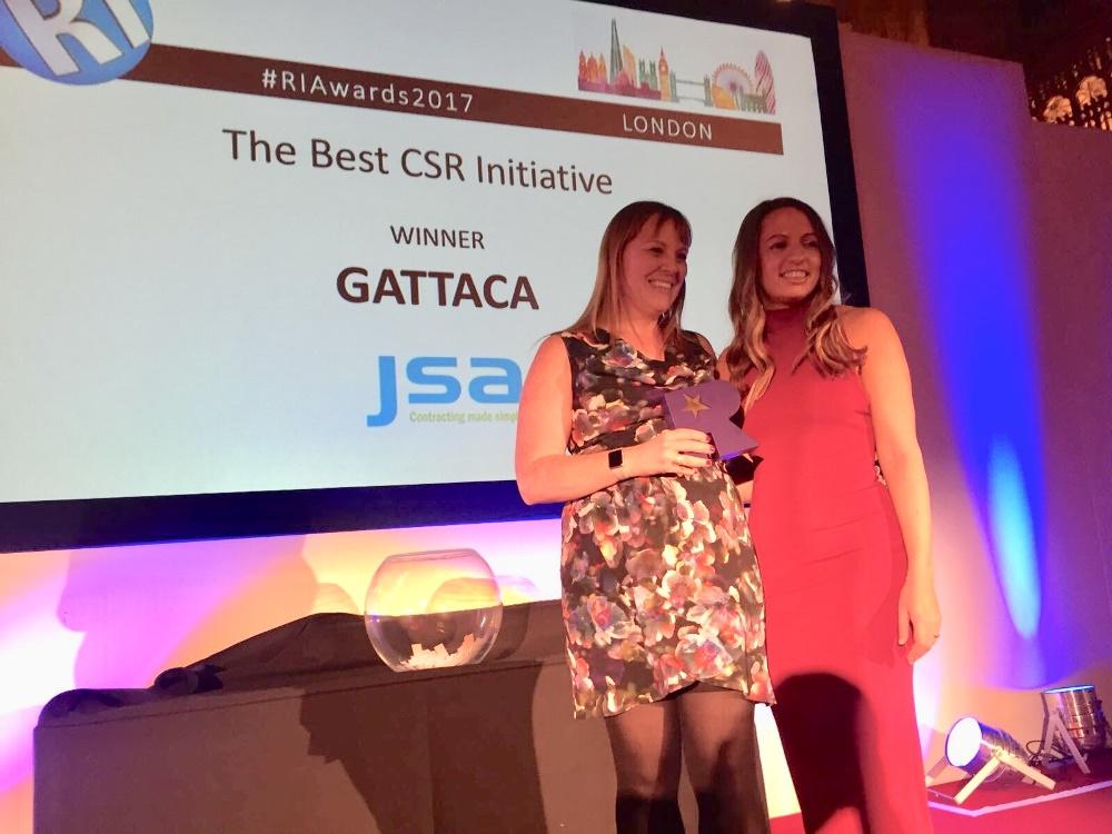 Gattaca honours Friends of PICU with CSR Award