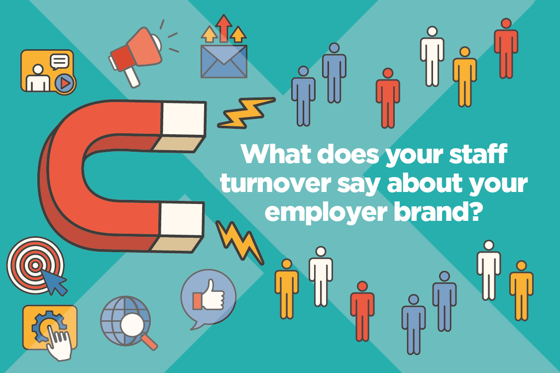 What does your staff turnover say about your employer brand?
