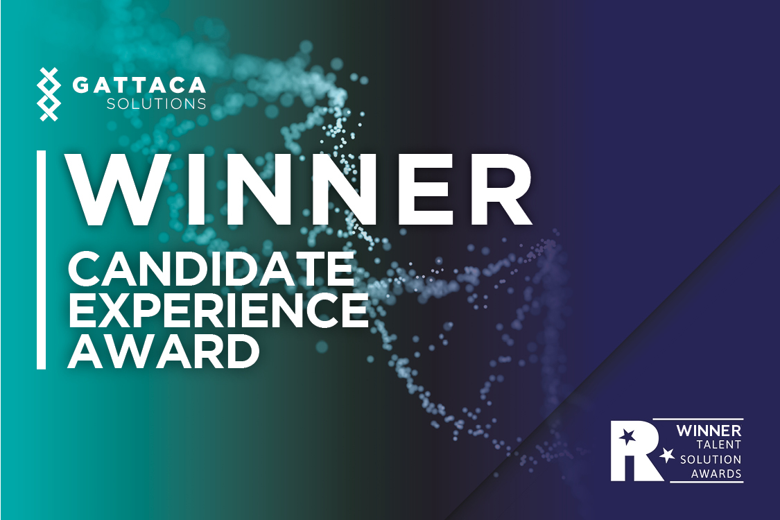 Winner candidate experience award tiara talent solution awards
