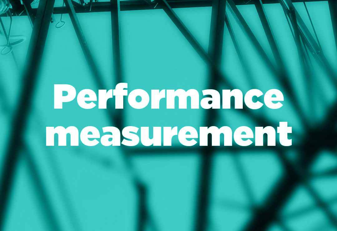 Performance measurement with an MSP