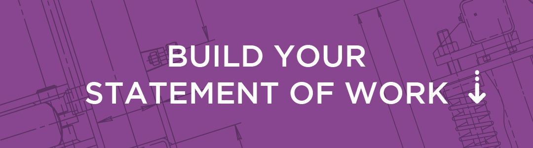 Build your statement of work