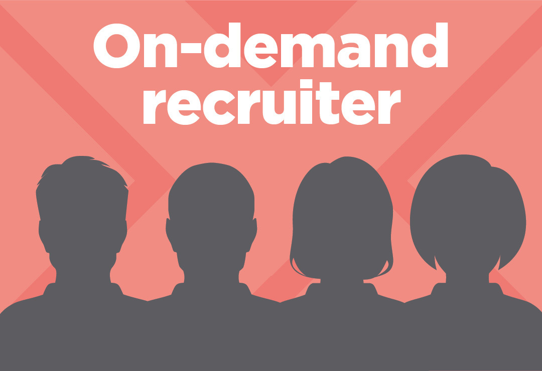 On demand recruiter RPO