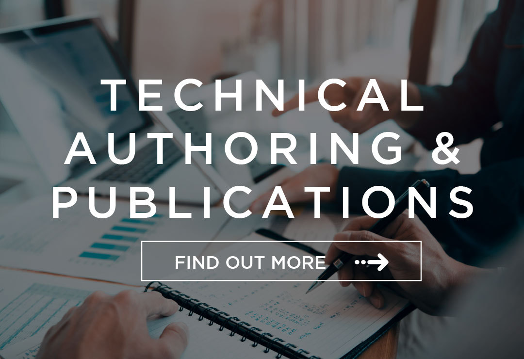 technical authoring and publishing services for engineering projects